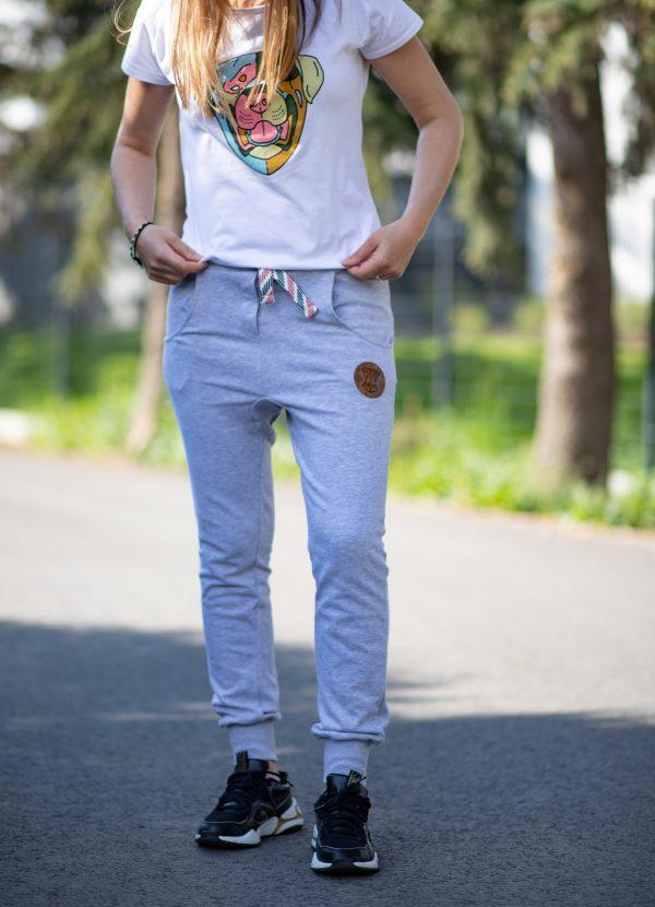 spodnie z łapą